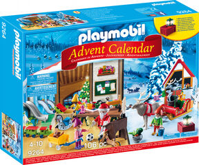 'Playmobil Calendari d''advent Taller de nadal'