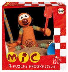 Puzzles progresivos mic 6-9-12-16Pc.