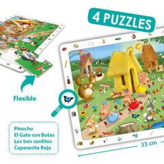 Puzzle Akros Cuentos clásicos