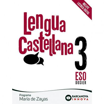 Castellà/María de Zayas ESO 3 Barcanova Text 9788448950606