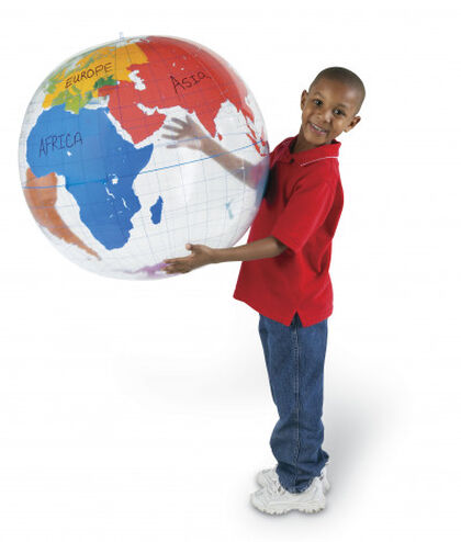 Bola del mundo Learning Resources Inflable