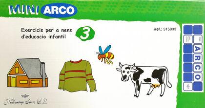MINI ARCO EXERCICIS PER A NENS D'EDUCACIÓ INFANTIL 3 MINIARCO 9788492490066