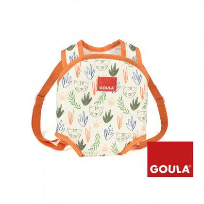 Accesorios muñecos Goula Mochila porta bebé Jungla
