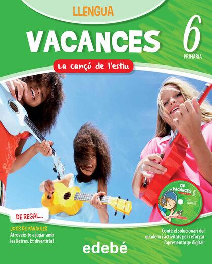 VACANCES LLENGUA 13 6e PRIMÀRIA Edebé 9788468310091