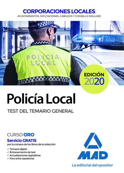 Policía Local. Test Del Temario General