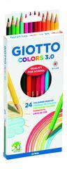 Lápices de coloresGiotto3.0 24U