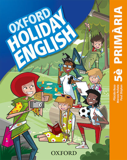 HOLIDAY ENGLISH 5 PRIM CAT 3ED REV Oxford 9780194546447