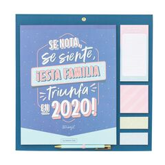 Calendario Mr.Wonderful Familiar 2020 Se nota .. Español