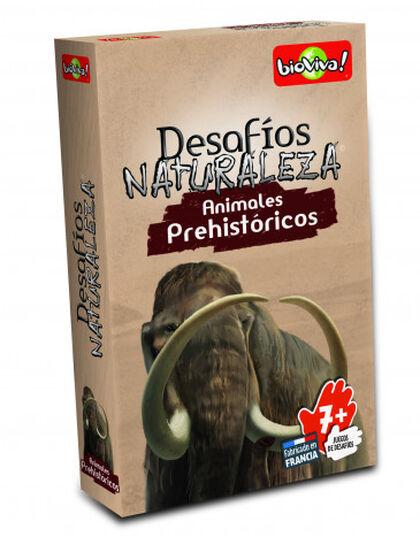 Joc de cartes Bioviva Desafíos Naturaleza Animals prehistòrics