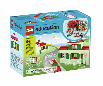 LEGO Education Construcción casas (9386)