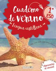 VERANO LENGUA CASTELLANA Y LITERATURA 1r ESO Barcanova Quaderns 9788448942052