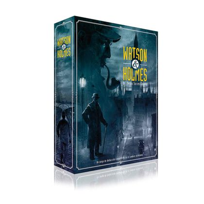 Joc d'estratègia Ludo Watson & Holmes 2ª Edició