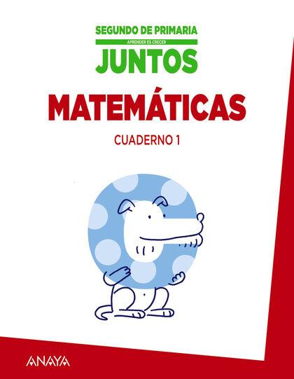 Matemáticas-cuad. 1/Crecer juntos PRIMÀRIA 2 Anaya Text 9788467875195