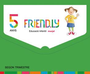 FRIENDLY 2 INFANTIL 5 AÑOS Marjal 9788483485019
