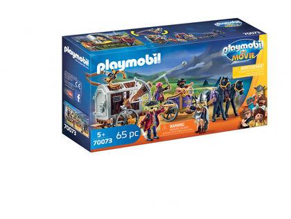 Figuras Playmobil The movie Charli carro prisionero