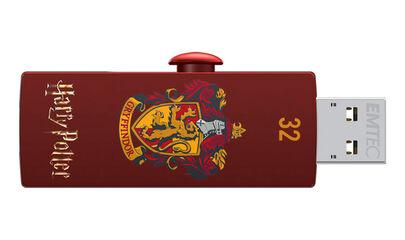 Memoria USB Emtec Harry P.Gryffindor