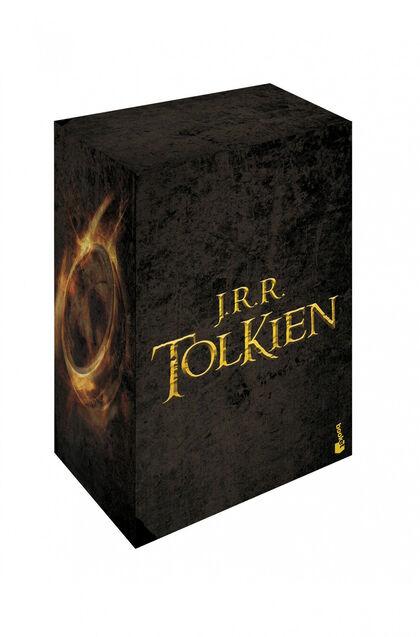 Estuche Tolkien (El Hobbit + La Comunidad  + Las Dos Torres +El Retorno del Rey)