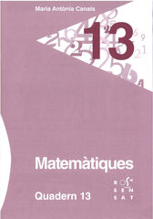 13DRS Quadern 13 Rosa Sensat 9788492748914