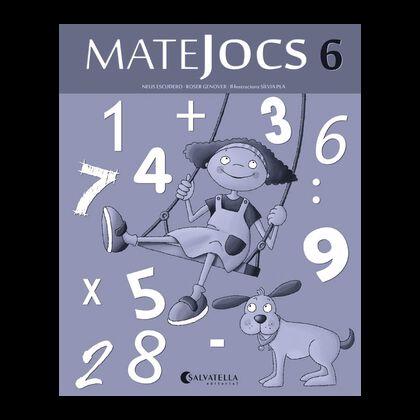 MATEJOCS 06 2n PRIMÀRIA Salvatella 9788484127659