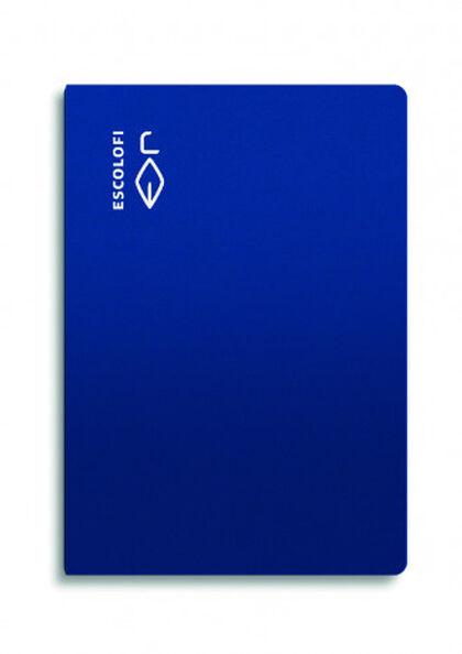 Libreta Escolofi Liso A4 Azul