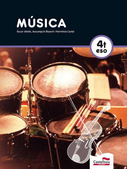 MÚSICA+CD 4t ESO Castellnou 9788498045024