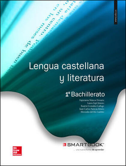 LENGUA Y LITERATURA 1º BACHILLERATO McGraw-Hill Text 9788448191160