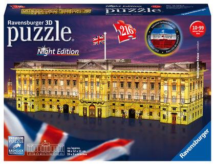 Puzzle Ravensburger Buckingham noche