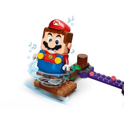 LEGO Super Mario Set de Expansión: Pantano venenoso de la Floruga V29 (71383)