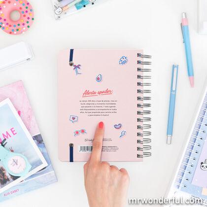Agenda Escolar Mr.Wonderful Rotu - Ilusiónate, planéalo y disfrútalo 2020 - 2021 A5 Día
