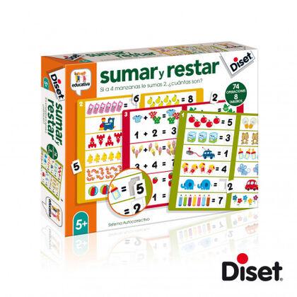 Juego didáctico Diset Sumar y restar II