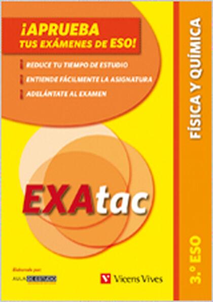 EXATAC FÍSICA I QUÍMICA 3r ESO Vicens Vives- 9788468205038