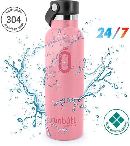 Botella Termo Runbott Sport Rosa 600 ml