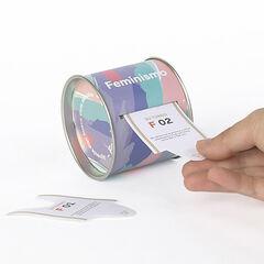Caja Tickets - Aprende algo sobro feminismo 100U