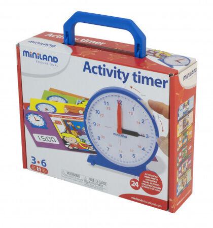 Juego Miniland Reloj actividades