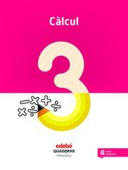 QUAD CALCUL 3 (CAT) Edebé 9788468335629