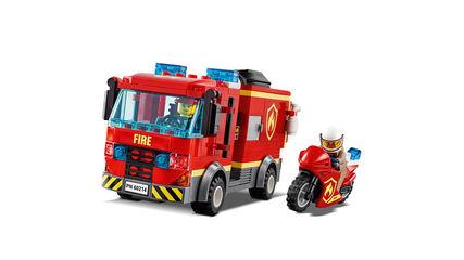 LEGO City Rescate incendio hamburguesería (60214)