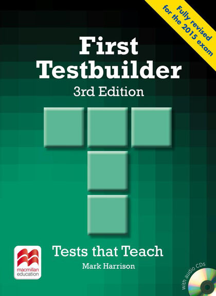 MCM First Testbuilder 3E/SB pack Macmillan Internac. 9780230476127