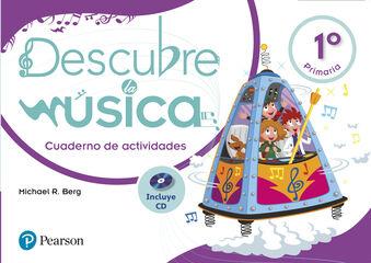 PEAR E1 Descubre música/Cuaderno Pearson 9788420566153