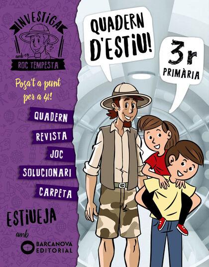 INVESTIGA AMB ROC TEMPESTA 3 Barcanova Quaderns 9788448944841