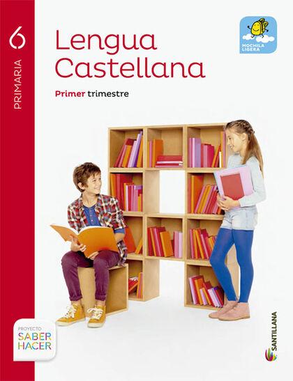 Castellano/SH PRIMÀRIA 6 Santillana Text 9788468031712