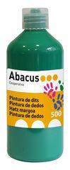 Pintura de dedos Abacus 500 ml Verde Oscuro