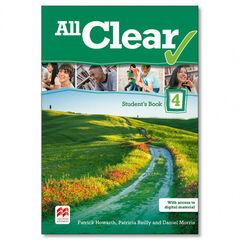 All Clear/SB Pack ESO 4 Macmillan-Text 9780230485501