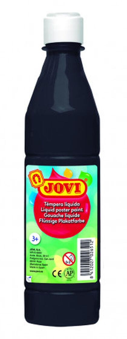 Tempera líquida  Jovi 500 ml Negre