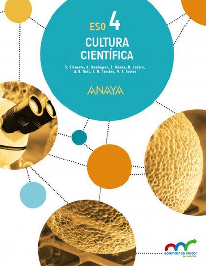 Cultura Científica ESO 4 Anaya Text 9788469811559