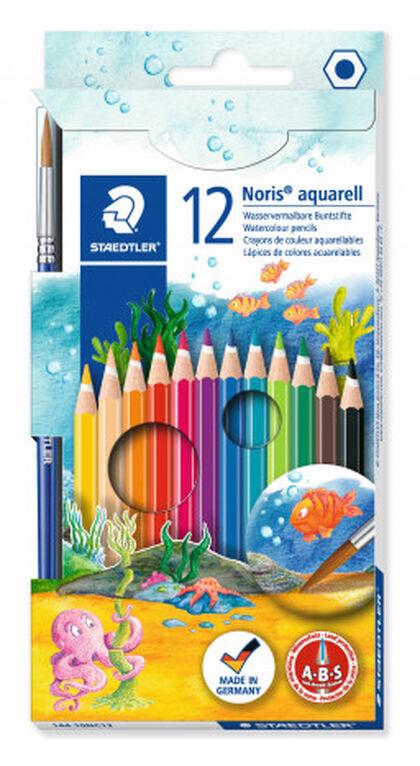 Estuche de lápices de colores Staedtler Noris Club Aquarell 12 colores