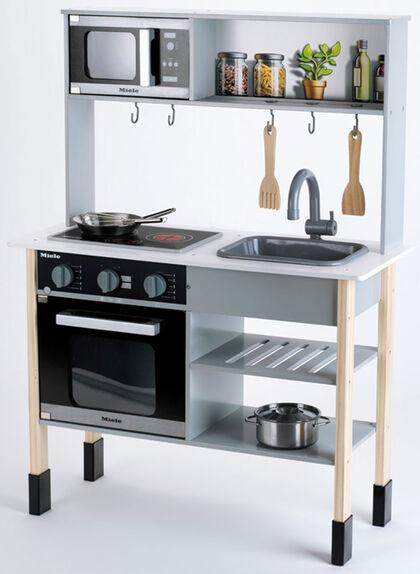 Miele Cocina de madera con sonido Klein