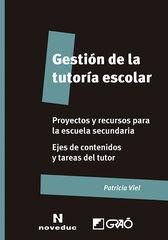 Gestión de la tutoría escolar