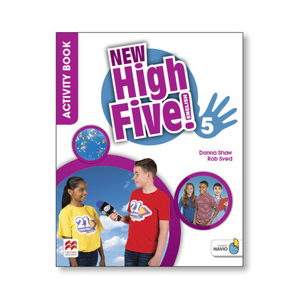 MCM E5 NEW HIGH FIVE 5. ACTIVITY BOOK Macmillan-Text 9781380013873