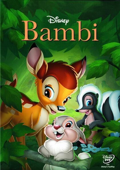 DVD Disney Bambi 2014