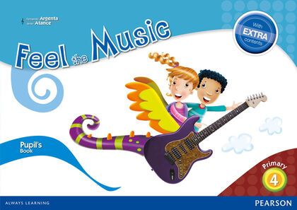 FEEL THE MUSIC PUPILS BOOK 4º PRIMARIA Pearson 9788420564319